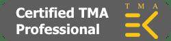 Sandra Smith gecertificeerd TMA Professional